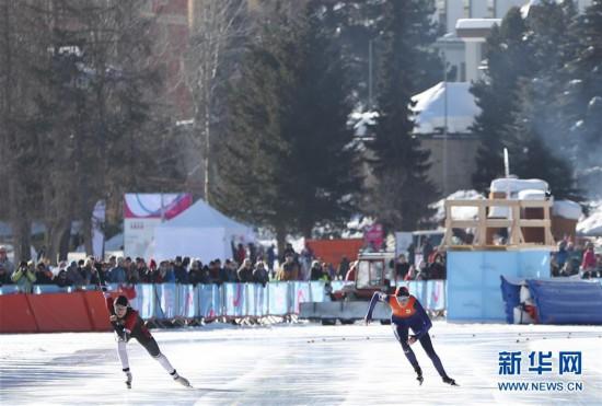 (冬青奥会)(3)速度滑冰――女子500米:中国选手王晶漪夺银