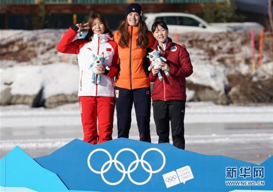 (冬青奥会)(4)速度滑冰――女子500米:中国选手王晶漪夺银
