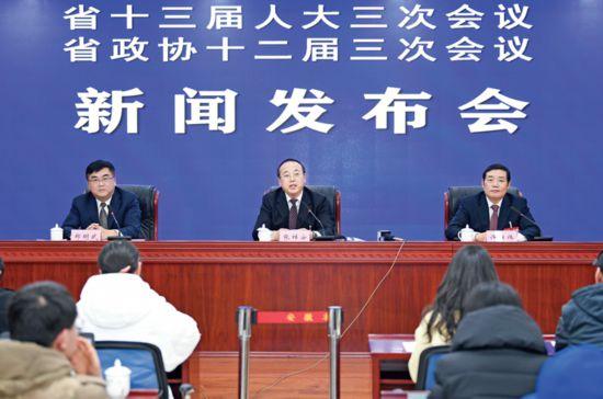 安徽省两会新闻发布会滁州专场在合肥举行