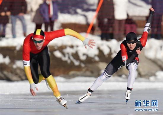(冬青奥会)(3)速度滑冰——男子500米:中国选手薛智文获得铜牌