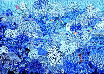 浙江余东:800人的村庄,300人是画家