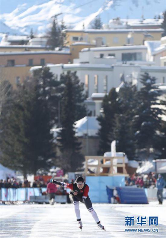 (冬青奥会)(2)速度滑冰――女子500米:中国选手王晶漪夺银