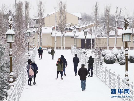 (新华视界)(5)塔什干降雪