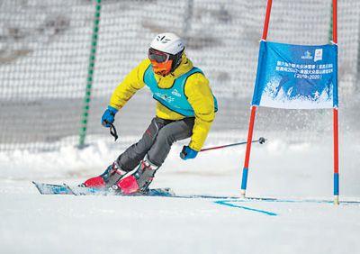 全国大众高山滑雪系列赛揭幕