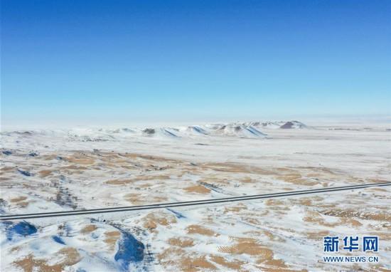 (环境)(5)锡林郭勒草原冬日美景
