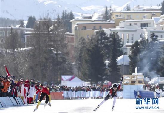 (冬青奥会)(4)速度滑冰――男子500米:中国选手薛智文获得铜牌