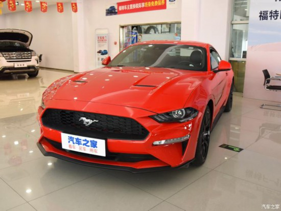 福特Mustang新车型上市 5.0L车型正式推出