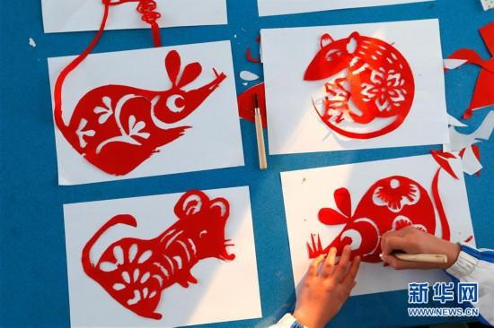 #(社會)(4)山東即墨:秀才藝 迎鼠年