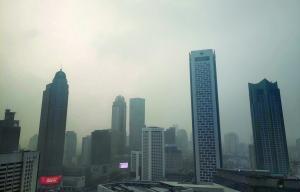 江苏连发大雾红色和霾橙色预警14日雾霾继续