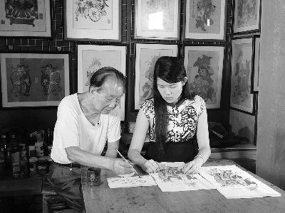广东佛山木版年画:在现代语境中走好传承路