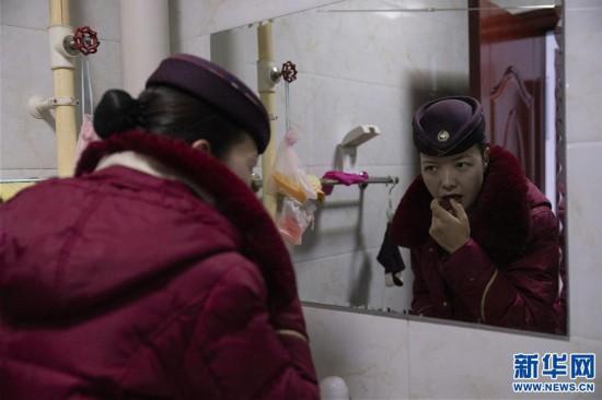(新春走基层)(2)高原上的藏族女列车长――贡久曲珍