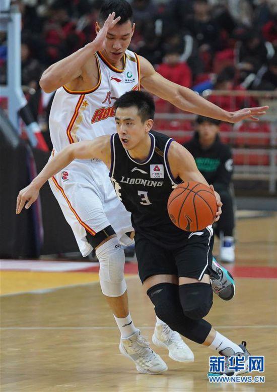 (體育)(1)籃球——CBA常規賽:八一南昌不敵遼寧本鋼