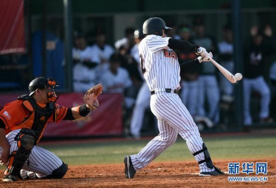 (体育)(14)棒球――中职棒总决赛:北京猛虎夺冠