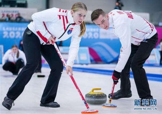 (冬青奥会)(6)冰壶――混合团体赛:中国队无缘四分之一决赛