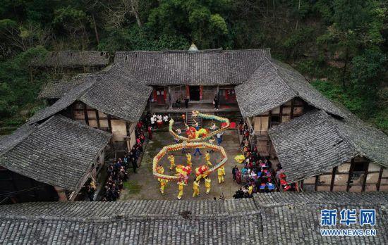 #(社會)(3) 四川蓬安:龍獅鬧春 文化暖心
