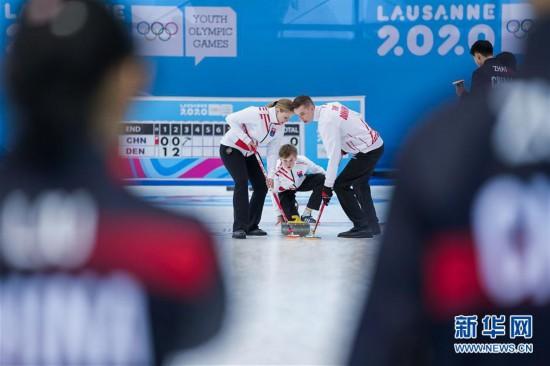 (冬青奥会)(4)冰壶――混合团体赛:中国队无缘四分之一决赛