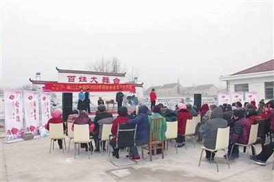 <strong>海門工業園區文化惠民迎新春送戲</strong>