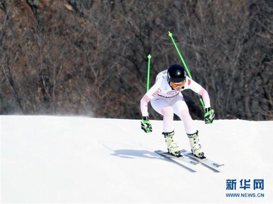 (全冬会)(2)高山滑雪――女子滑降比赛赛况