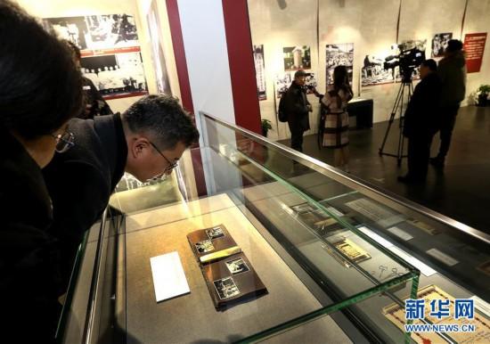 (社会)(1)上海举办《淞沪抗战中的红十字》文物图片展