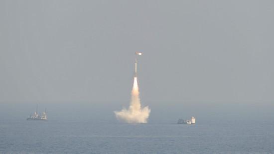 印度成功测试潜射核导弹可携2吨重核弹头打3500公里远