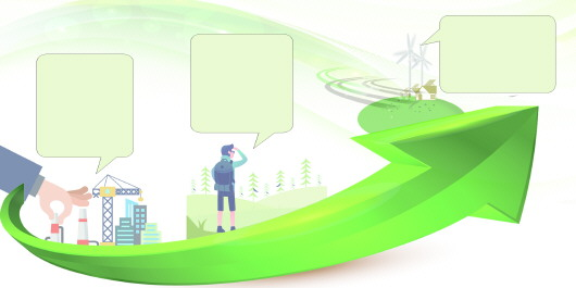"""绿色经济风光好""""金山银山""""富百"""