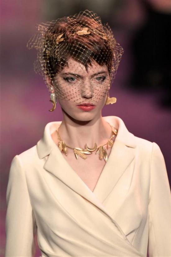 (国际)(5)巴黎高级定制时装周:迪奥发布春夏新品
