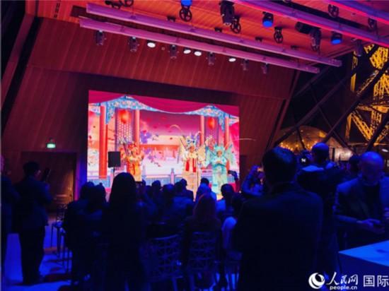 2020花開雙城中法友好交流故事會暨廣州海外花市啟動儀式在巴黎舉行(圖片:何蒨)