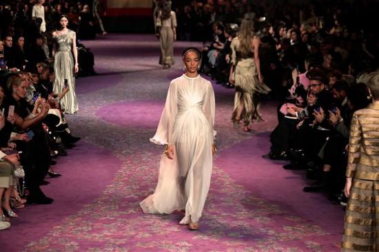 (國際)(1)巴黎高級定制時裝周:迪奧發布春夏新品
