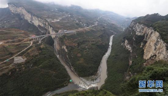 (社会)(3)鸡鸣三省大桥建成通车