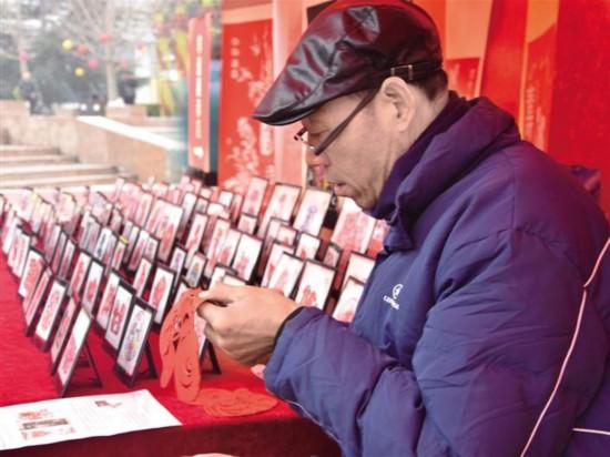渭南:非遗增年味热闹迎新春