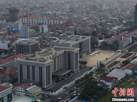 中柬自贸协定第一轮谈判共建中柬命运共同体