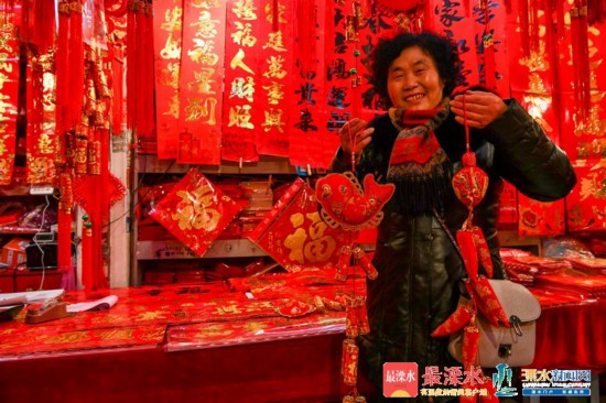 新春佳节越来越近南京溧水年味浓