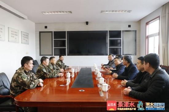 南京市溧水區領導走訪慰問困難群眾
