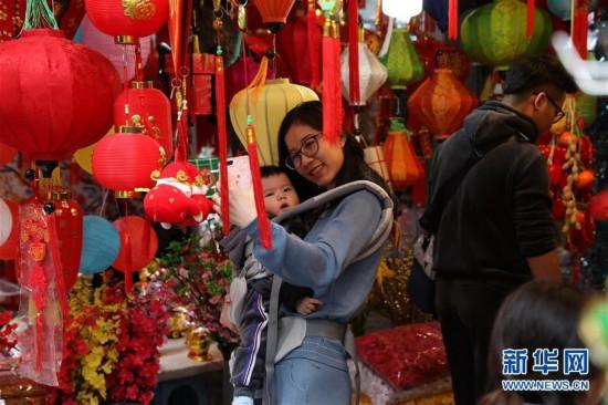 (国际)(1)越南民众迎新春