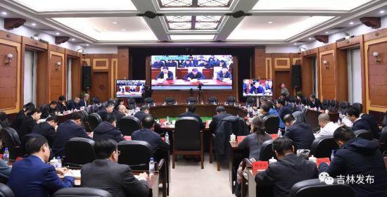 吉林省委召开常委扩大会议坚决打
