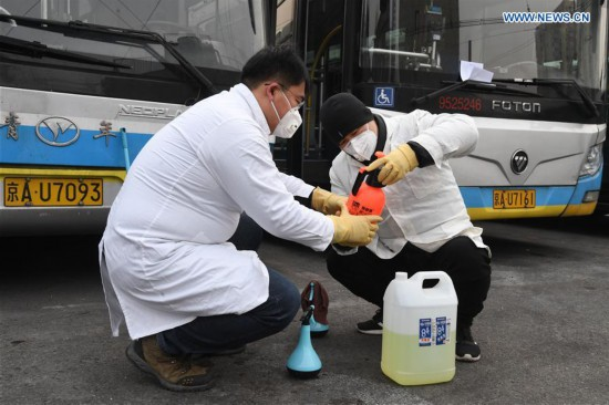Beijing Public Transport Corporation takes measures to prevent spread of novel coronavirus