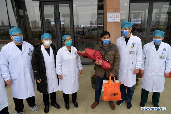 Patient with coronavirus pneumonia discharged from Jiangxi hospital