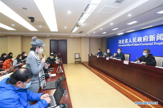 CHINA-WUHAN-NOVEL CORONAVIRUS-PRESS CONFERENCE(CN)