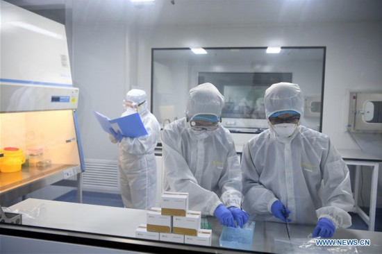 CHINA-TIANJIN-CORONAVIRUS-DETECTION REAGENT (CN)