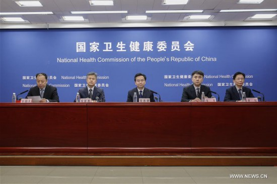 CHINA-BEIJING-NATIONAL HEALTH COMMISSION-PRESS CONFERENCE (CN)