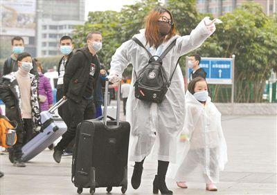 广东:返程高峰来临不漏一车一人