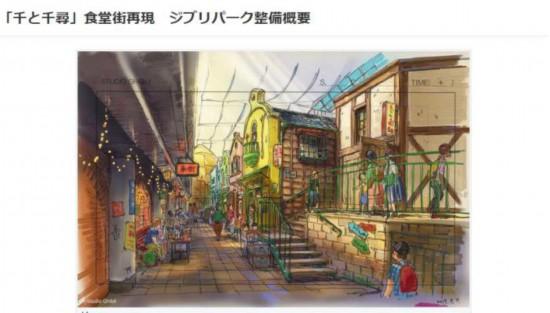 吉卜力主题公园将耗资340亿日元