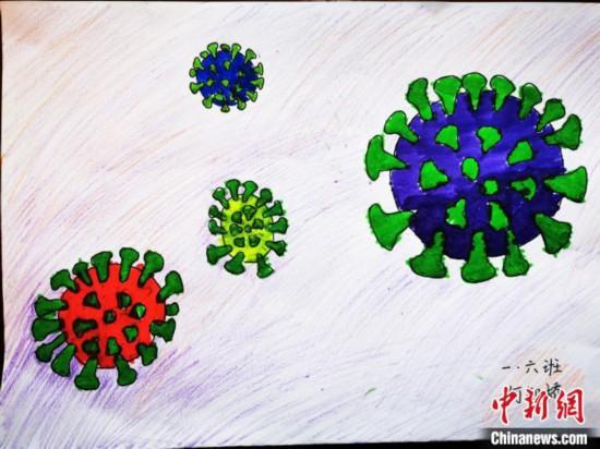 「特別な」冬休みの宿題 重慶の小学生が「疫病予防・抑制に向けた総力戦」を絵画で記録