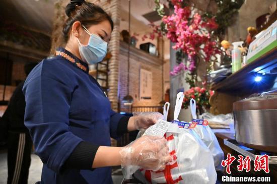 「無接触」で食事を届けるデリバリーサービスが登場 広西南寧
