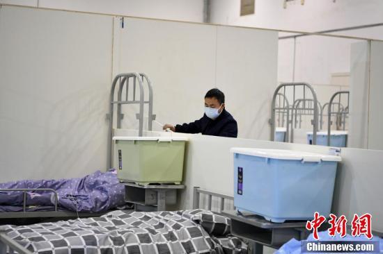 武漢客庁に設置された「臨時医療施設」を訪ねて 湖北省