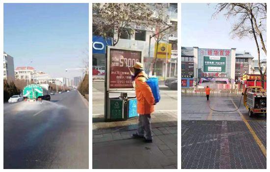 2月6日起兴庆区40辆洒水车对辖区大街小巷进行消毒