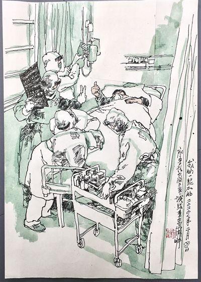 那些永恒的瞬间――画家笔下的前线医疗队