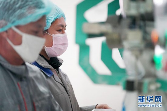 (聚焦疫情防控)(4)黑龙江:粮油加工企业加紧生产