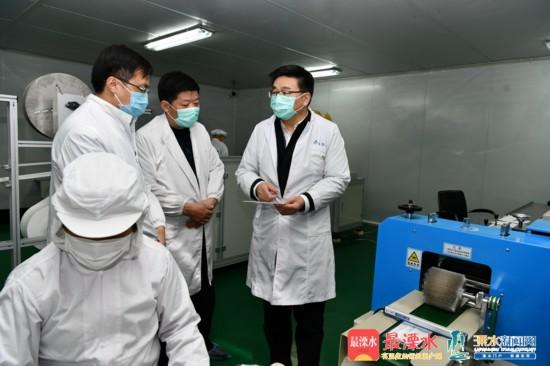 溧水区委书记薛凤冠:部署好企业复工生产