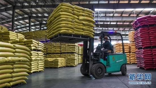 (聚焦疫情防控)(1)广西钦州:有序恢复生产